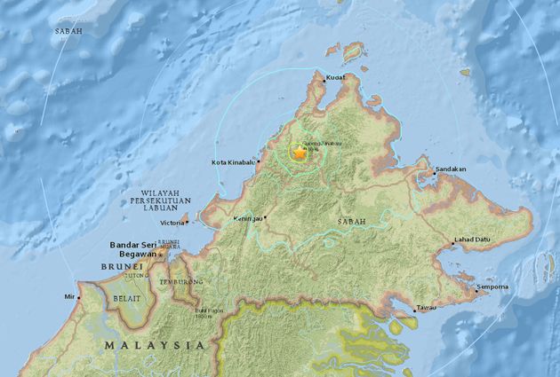 Gempa bumi di Ranau, Sabah