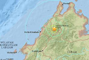 Gempa 6.0 magnitud landa Ranau, Sabah