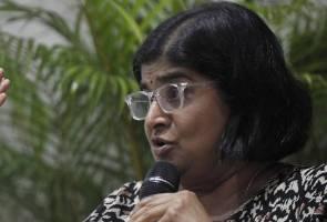 Ambiga usah 'baling batu sembunyi tangan' - TPM Zahid