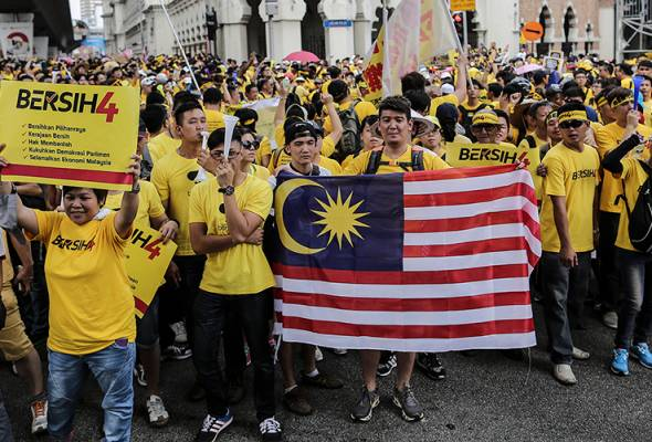 Bersih 4: No arrests made, situation under control - KL Police