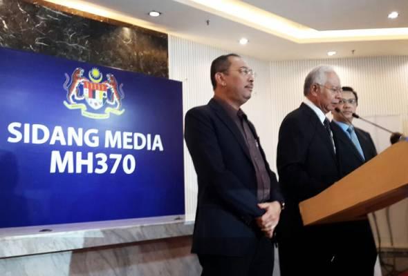 PM Najib Razak's full statement on MH370