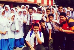 Semangat guru SMK Pinang Tunggal dapat pujian ramai