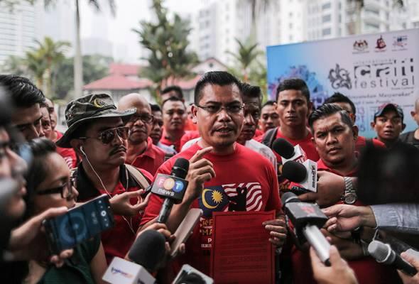 Penganjur Himpunan Rakyat Bersatu nafi Najib beri cek RM3 juta