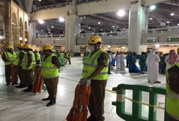 Sekurang-kurangnya 107 jemaah maut kren tumbang di Masjidilharam