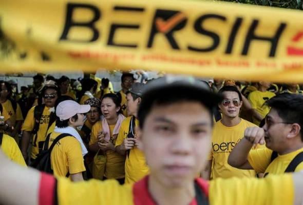 Pengharaman pakaian kuning dengan perkataan 'Bersih 4' adalah sah - Mahkamah