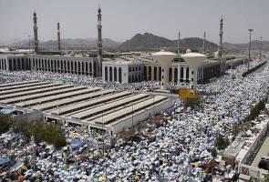 Suhu 50 darjah Celsius di Tanah Suci dijangka mencabar jemaah haji tahun ini