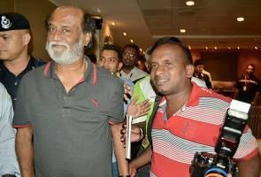 #kabaliinmalaysia welcomes Indian superstar Rajinikanth