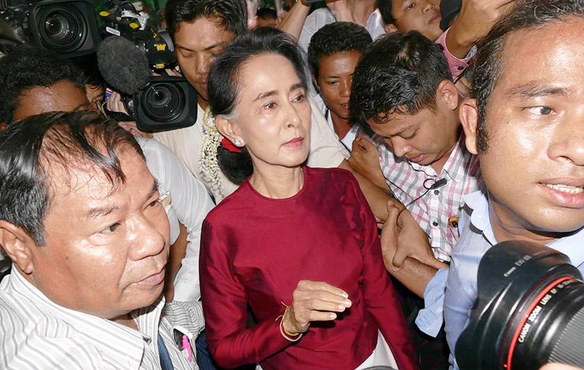 Mengapakah Aung San Suu Kyi terus membisu? - Gambar fail