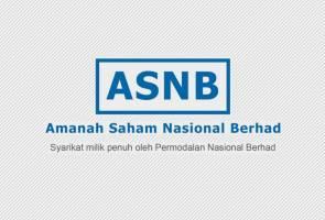 ASNB umum agihan pendapatan 6.30 sen seunit bagi skim ASM