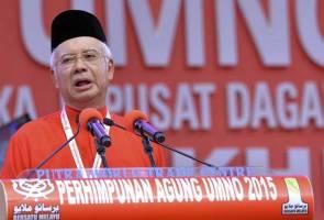 """I'm a gentleman,"" kata Najib"