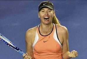 Tenis: Hukuman gantung Sharapova dikurangkan kepada 15 bulan