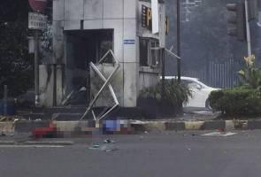 Insiden letupan, tembakan di Jakarta: Sekurang-kurangnya tiga maut