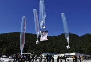 Korea Utara guna tisu tandas terpakai untuk 'bom' Korea Selatan