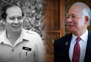 Najib Razak, 40 years in politics