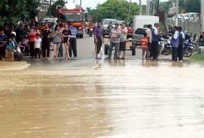 3,092 flood victims evacuated in Melaka