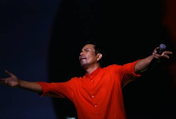 Tiket konsert M. Nasir Satu Hikayat habis terjual