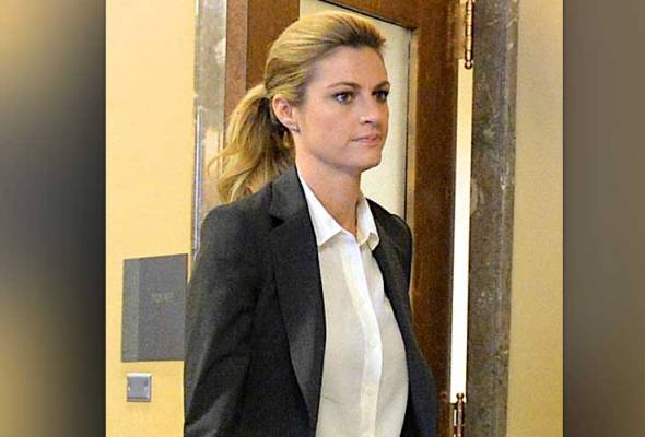 Sportscaster Erin Andrews and attorney Bruce Broillet