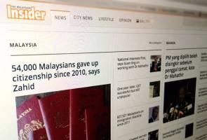 Portal The Malaysian Insider henti operasi bermula tengah malam ini