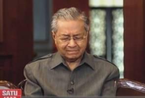 'Kita semua akan pergi, akhirnya' - Tun Mahathir