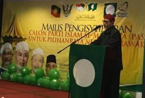 Amanah ibarat khadam DAP, bukan saingan kepada PAS - Hadi Awang
