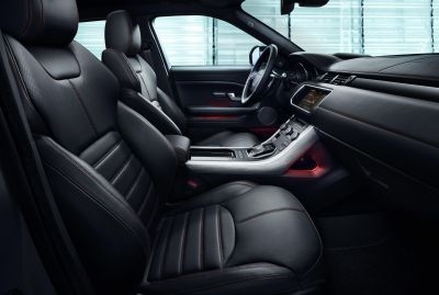 Inside the Range Rover Evoque Ember Special Edition ©Land Rover