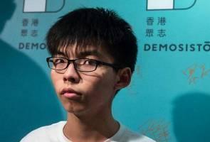 Protes Hong Kong: Aktivis utama Joshua Wong antara tiga ditahan hari ini