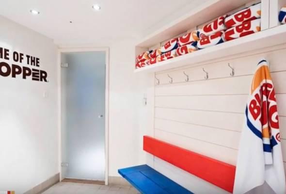 Burger King buka spa di Finland, RM1,100 untuk tiga jam