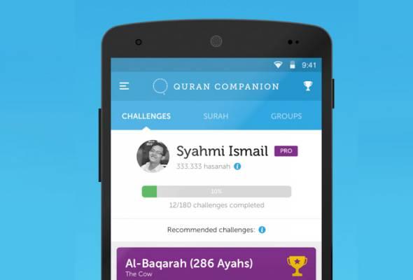 Cara efektif hafal Al-Quran melalui aplikasi Quran Companion
