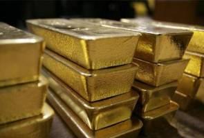 Niaga hadapan emas ditutup tinggi