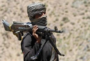 Pasukan keselamatan Afghanistan musnah bazar dinamakan sempena pengasas Taliban