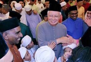 Suarakan solidariti dengan nasib umat Islam yang ditindas - PM Najib