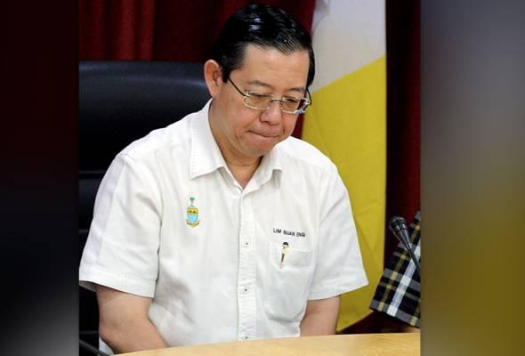 Polis rekod keterangan Guan Eng berhubung dakwaan anak cabul gadis