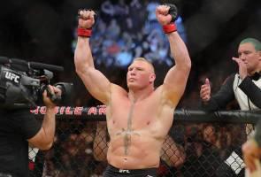 MMA: WWE Superstar Brock Lesnar beats top UFC heavyweight Mark Hunt