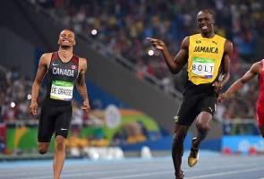 Rio 2016: Menang separuh akhir 200 meter, Usain Bolt 'buat muka' lagi