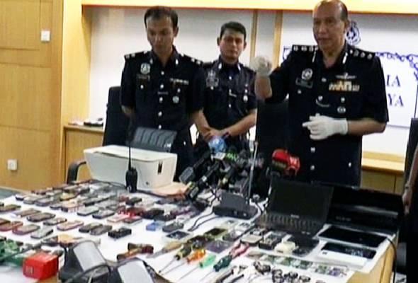 Polis Putrajaya lumpuhkan sindiket curi kereta dan pecah rumah