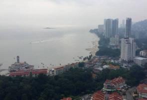 Haze is back in Penang