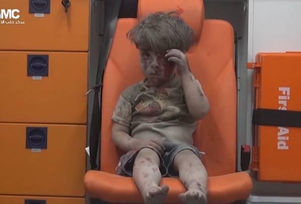 Wajah kanak-kanak Aleppo ini peringatan jelas ngeri perang di Syria