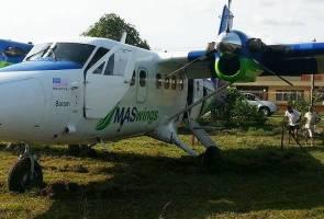Pesawat MASwings tergelincir ketika buat pendaratan di Marudi