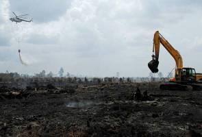 Kesemua titik panas di Riau berjaya dipadamkan - Agensi Indonesia