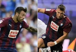 Dua pemain Eibar mohon maaf selepas video seks mereka tersebar
