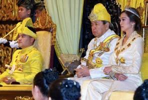 Tengku Amir Shah sempurnakan istiadat pemasyhuran Raja Muda Selangor