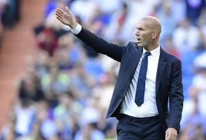 Zidane gesa Real usah jadi 'gila' disebabkan kehambaran