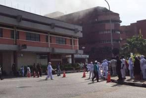 Wad ICU Hospital Sultanah Aminah terbakar, 6 meninggal dunia