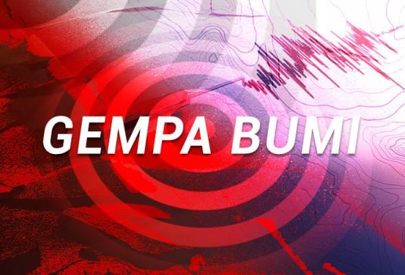 Gempa bumi sederhana gegar semenanjung Minahassa, Sulawesi