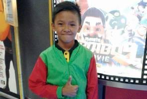 Missing boy Ayrill enjoys life as 'homeless'
