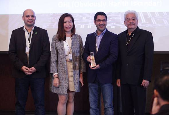 Obviously Harith Iskander raih dua emas Anugerah Media Digital Asia 2016