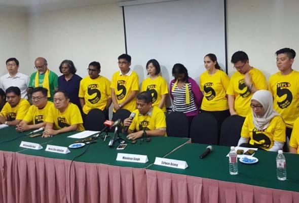 Bersih tetap diteruskan, solidariti buat Maria Chin dan empat pemimpin lain - Shahrul