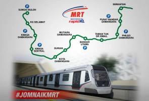 MRT Sg Buloh-Kajang sedia terima penumpang 16 Disember ini