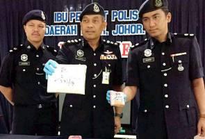 Polis rampas 1.82kg ganja dalam kereta