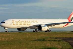 Kerana senggugut, Emirates arahkan penumpang turun dari pesawat